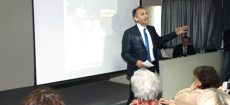 Διάλεξη με τον Dr. Μουρούτη