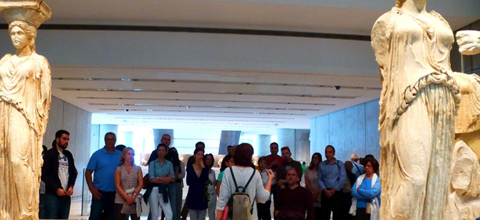 Ταξίδι στο Μουσείο της Ακρόπολης…